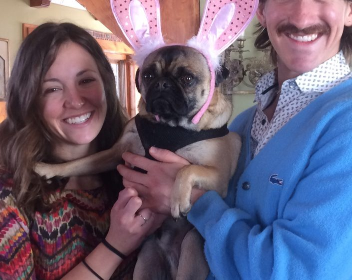 Why I love Easter by Eddie The Pug